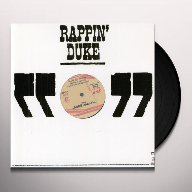 RAPPIN' DUKE ( JOHN WAYNE RAP ) Vinyl Record