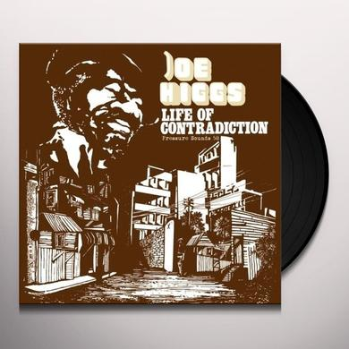 Joe Higgs LIFE OF CONTRADICTION Vinyl Record