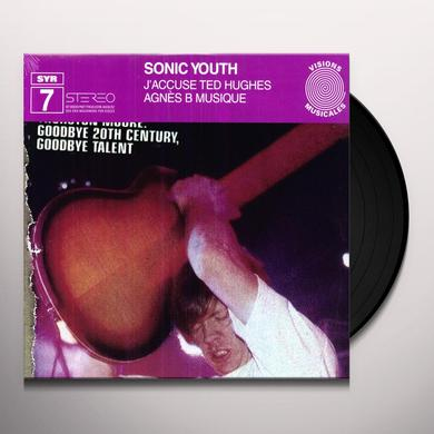 Sonic Youth J'ACCUSE TED HUGHES Vinyl Record
