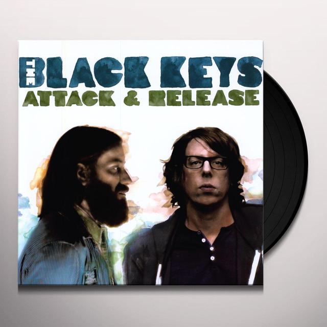 Black Keys ATTACK & RELEASE (BONUS CD) Vinyl Record