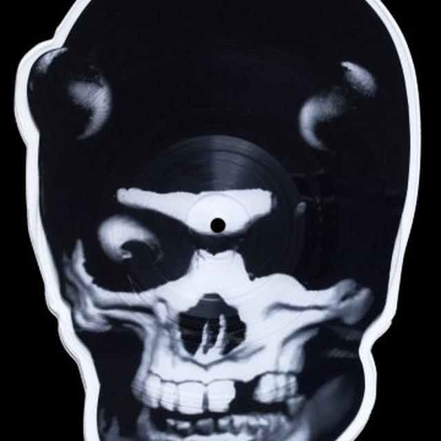 Balzac SKULL SHAPED PICTURE DISC Vinyl Record