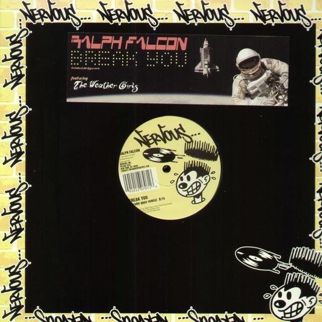 Ralph Falcon BREAK YOU (X2) Vinyl Record