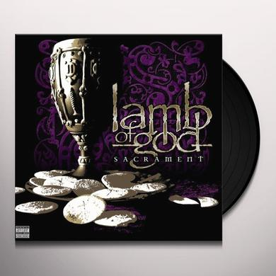 Lamb Of God SACRAMENT Vinyl Record