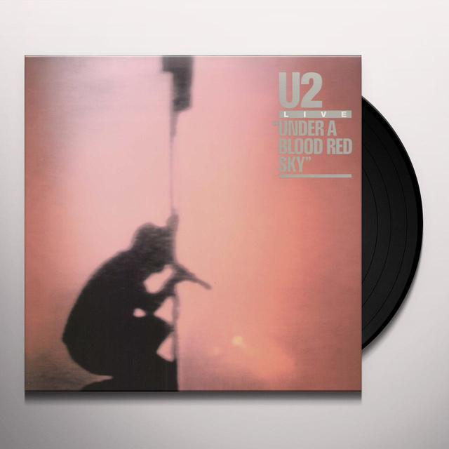 U2 UNDER BLOOD RED SKY Vinyl Record