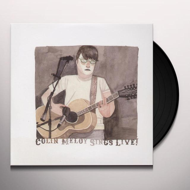 COLIN MELOY SINGS LIVE (BONUS TRACK) Vinyl Record