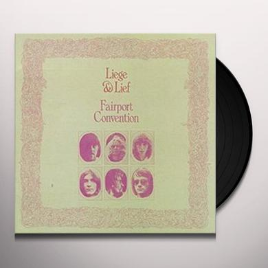 Fairport Convention LIEGE & LIEF Vinyl Record - Deluxe Edition