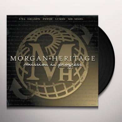 Morgan Heritage MISSION IN PROGRESS Vinyl Record