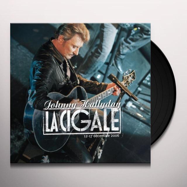 Johnny Hallyday CIGALE / 33 TOURS Vinyl Record