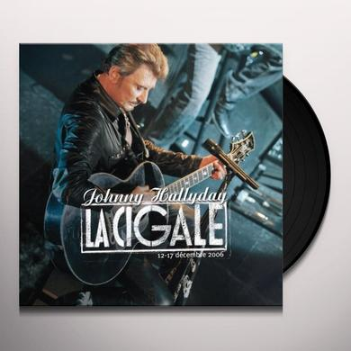 Johnny Hallyday CIGALE / 33 TOURS (FRA) Vinyl Record