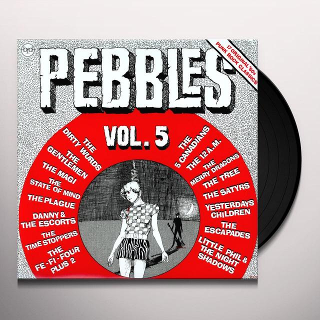 PEBBLES 5 / VARIOUS Vinyl Record