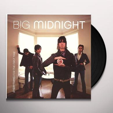 Big Midnight EVERYTHING FOR THE FIRST TIME Vinyl Record