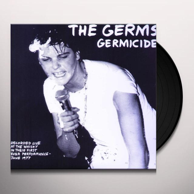 Germs GERMICIDE Vinyl Record