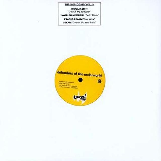 HIP HOP GEMS 3 / VARIOUS Vinyl Record