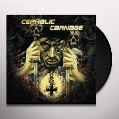 Cephalic Carnage CONFORMING TO ABNORMALITY Vinyl Record