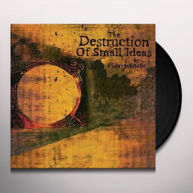 65Daysofstatic DESTRUCTION OF SMALL IDEAS (LTD) (Vinyl)