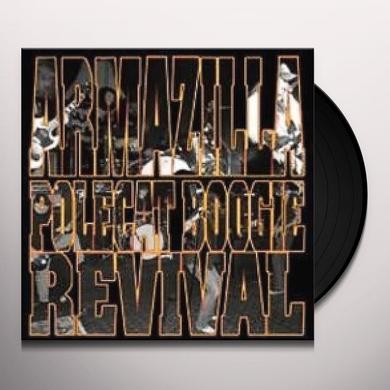 Polecat Boogie Revival / Armazilla SPLIT Vinyl Record