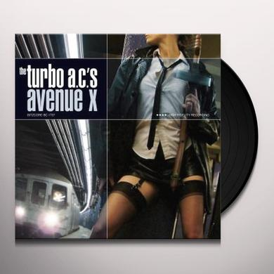 Turbo Ac's AVENUE X Vinyl Record