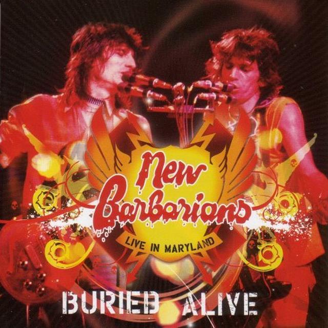 New Barbarians BURIED ALIVE (BOX) Vinyl Record