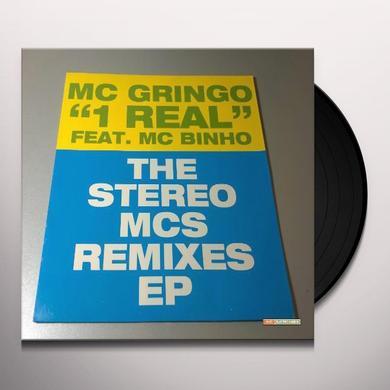 Mc Gringo 1 REAL: THE STERO MC'S REMIXES (EP) Vinyl Record
