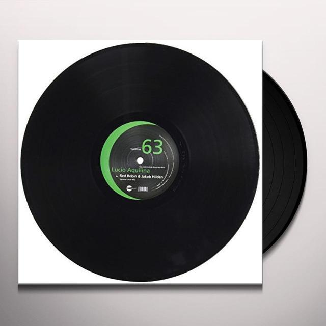 Lucio Aquilina SQUARED CIRCLE & DISCO BUS REMIX Vinyl Record