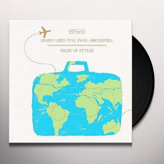 Shawn / Ping Pong Orchestra Lee MILES OF STYLES Vinyl Record