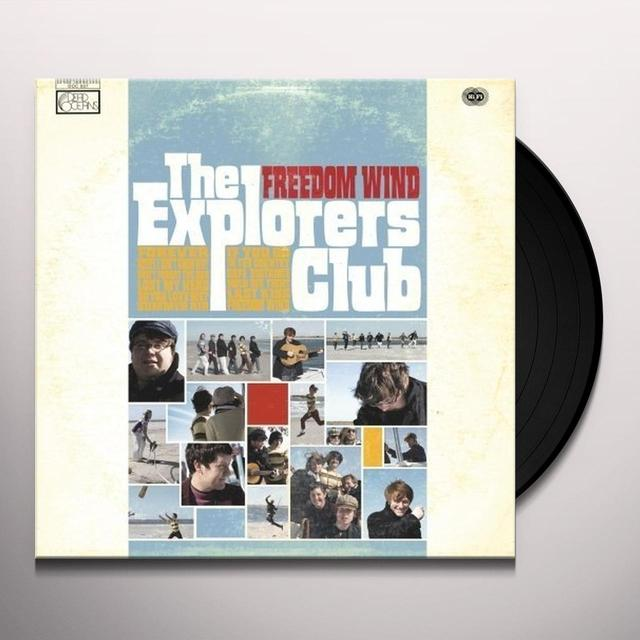 Explorers Club FREEDOM WIND Vinyl Record