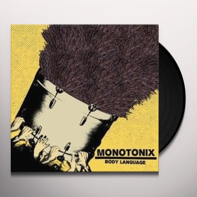 Monotonix BODY LANGUAGE Vinyl Record