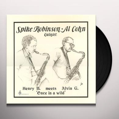 Spike Robinson & Al Cohn HENRY B MEETS ALVIN G Vinyl Record