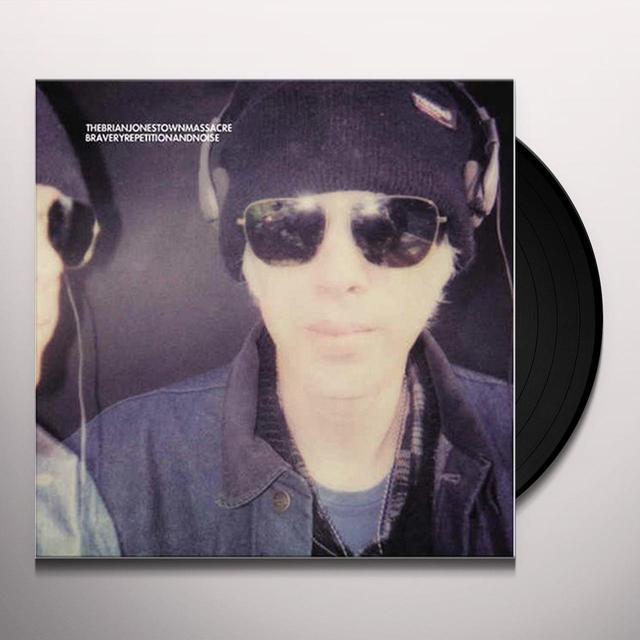 The Brian Jonestown Massacre BRAVERY REPETITION & NOISE (PURPLE VINYL) Vinyl Record - Limited Edition