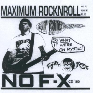 Nofx MAXIMUM ROCK N ROLL Vinyl Record