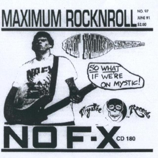 Nofx MAXIMUM ROCK N ROLL Vinyl Record