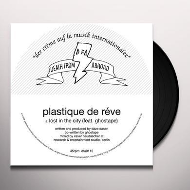 Plastique De Reve LOST IN THE CITY Vinyl Record