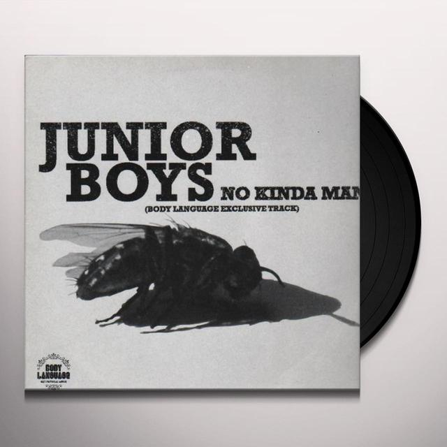 Junior Boys NO KINDA MAN (EP) Vinyl Record
