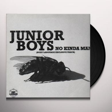 Junior Boys NO KINDA MAN Vinyl Record