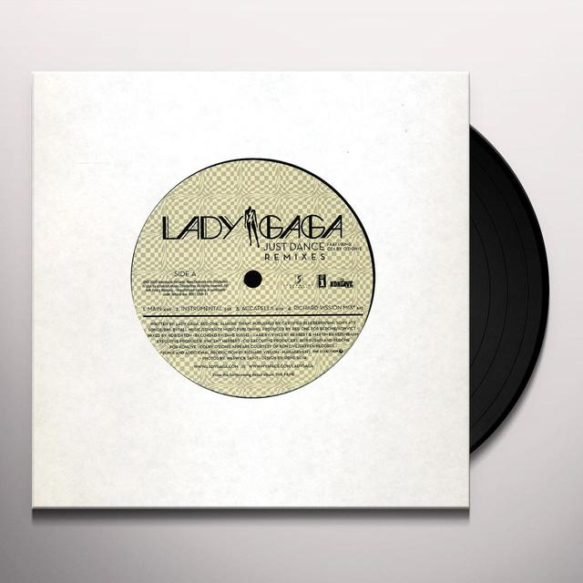 Lady Gaga JUST DANCE (X6) Vinyl Record - Remix