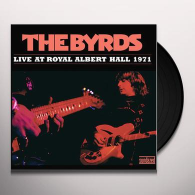 The Byrds LIVE AT ROYAL ALBERT HALL 1971 Vinyl Record
