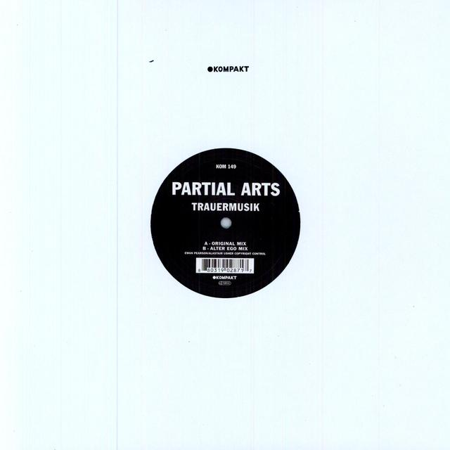 Partial Arts TRAUERMUSIK (EP) Vinyl Record