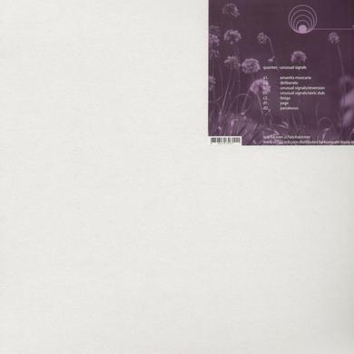 Quantec UNUSUAL SIGNALS Vinyl Record