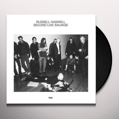 Russell Haswell SECOND LIVE SALVAGE Vinyl Record