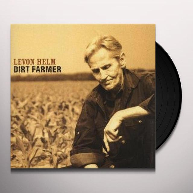 Levon Helm DIRT FARMER Vinyl Record