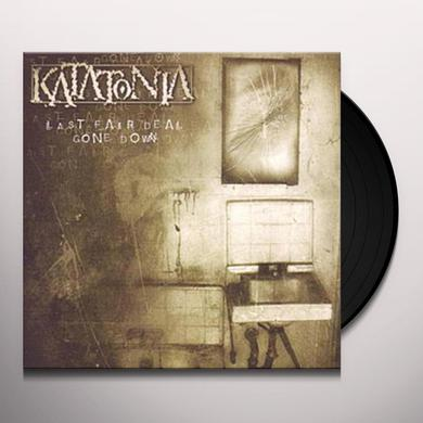 Katatonia LAST FAIR DEAL GONE DOWN Vinyl Record