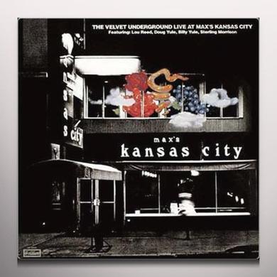 Velvet Underground MAX'S KANSAS CITY Vinyl Record - Colored Vinyl