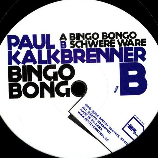 Paul Kalkbrenner BINGO BONGO Vinyl Record