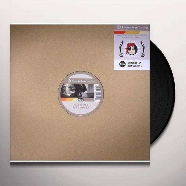 Kadebostan RUFF DANCER (EP) Vinyl Record