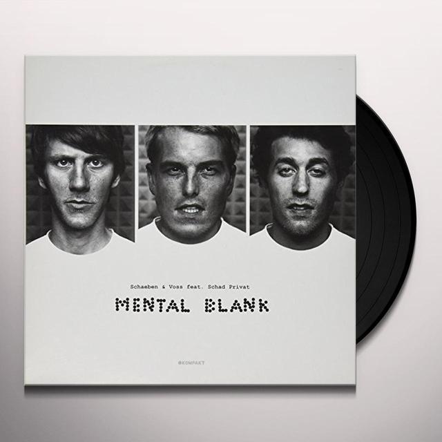 Schaeben & Voss MENTAL BLANK Vinyl Record