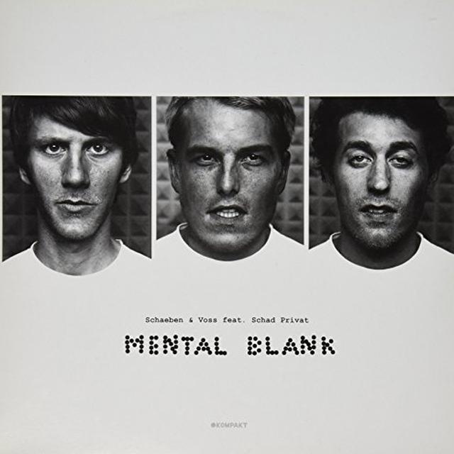 Schaeben & Voss MENTAL BLANK (EP) Vinyl Record