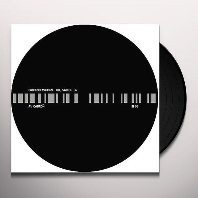 Fabrizio Maurizi OK SWITCH ON (EP) Vinyl Record