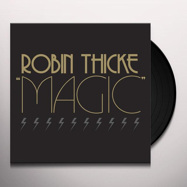 Robin Thicke MAGIC (X5) Vinyl Record