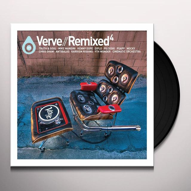 VERVE REMIXED 4 / VARIOUS Vinyl Record