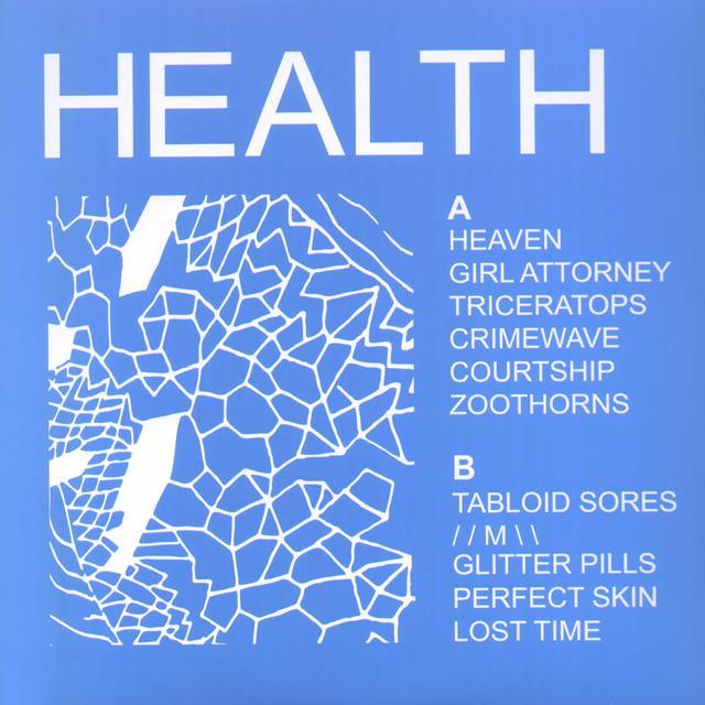 HEALTH Vinyl Record